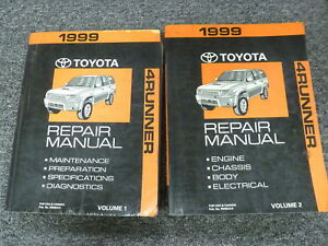 service manual for 1999 toyota 4runner free owners manual u2022 rh wordworksbysea com Toyota 4Runner 4x4 1999 1999 toyota 4runner owners manual download