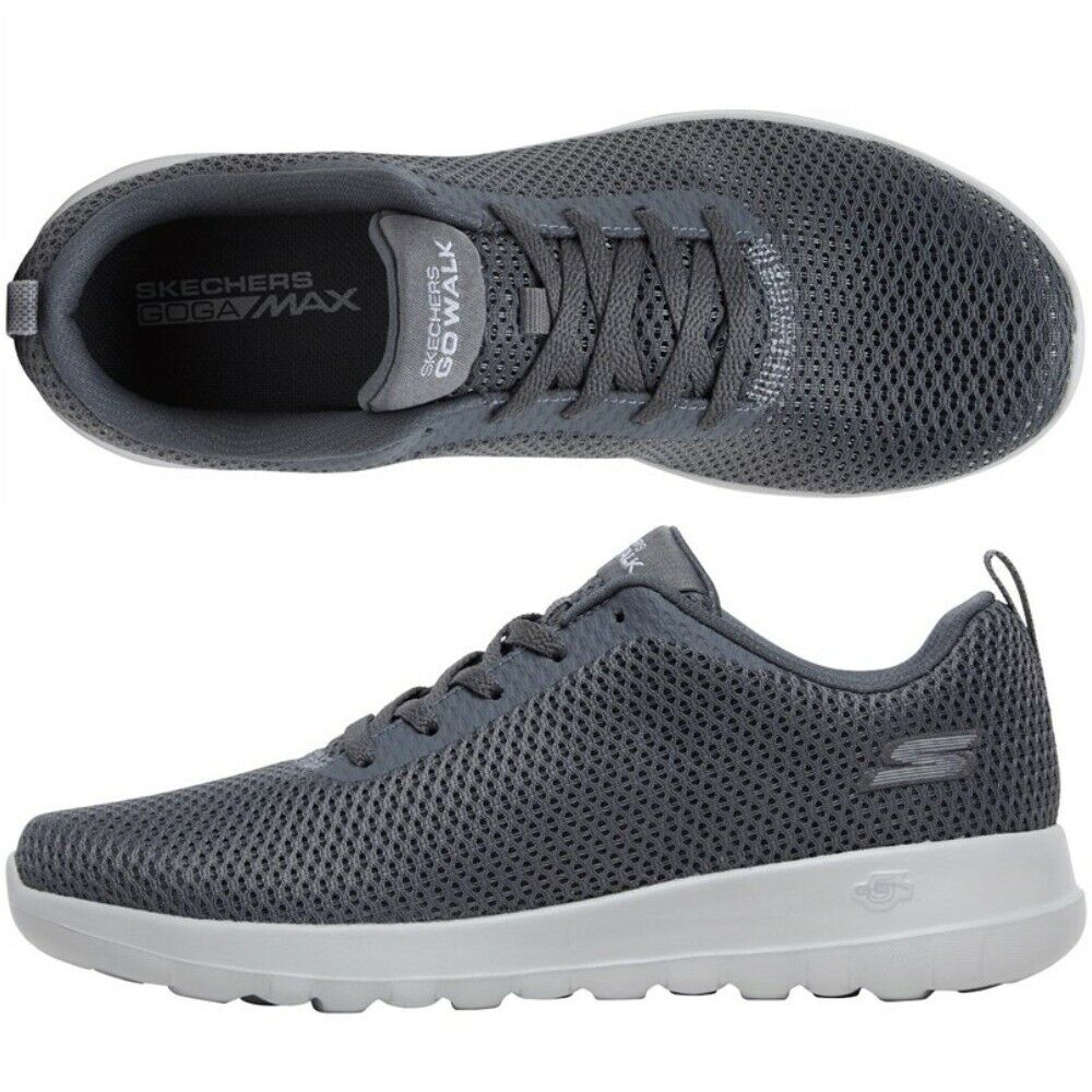 NEW Skechers Womens GOwalk Bucolo Trainers Grey Supreme Comfort All Sizes UK 3-9