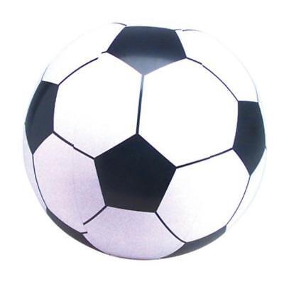 22cm PLASTIC PVC FOOTBALL Inflatable Beach Ball Sports KidsToy Soft Training