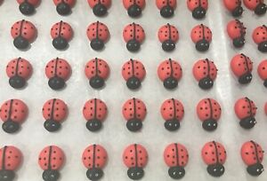 24-x-Edible-Sugar-Icing-Lady-Bugs-Cupcake-Toppers-Decorations-Party-Cakes