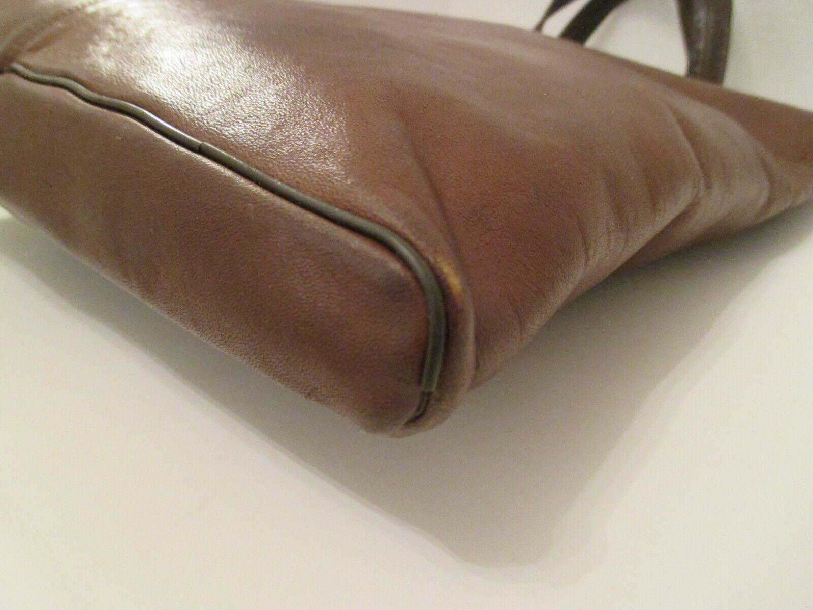 COACH Vintage Bonnie Cashin Pre-Creed Brown Leath… - image 7