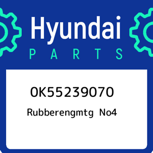 0K55239070-Hyundai-Rubberengmtg-no4-0K55239070-New-Genuine-OEM-Part