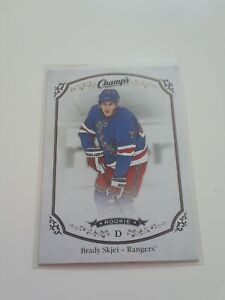 2015-16-Champ-039-s-Brady-Skjei-Rookie-167-New-York-Rangers-Rc-L-K