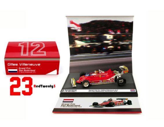 Ferrari 312 T4 - Gilles Villeneuve on 3 wheels - GP Netherlands 1979  12 - Brumm