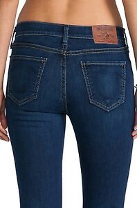 True-Religion-Brand-Jeans-Women-Abbey-Super-Skinny-Legging-Tinted-Dream-Blue-New