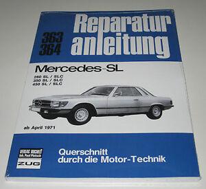 Reparaturanleitung Mercedes R107 C107 107 280 350 450 Sl Und Slc Neu VerrüCkter Preis