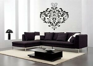 Ornament Wall Stickers Decor Art Decal Floral Walls Removable ...