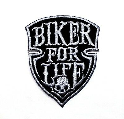 Diamond Skull Chopper Harley Triumph Yamaha Kawasaki Suzuki Racing Iron on Patch