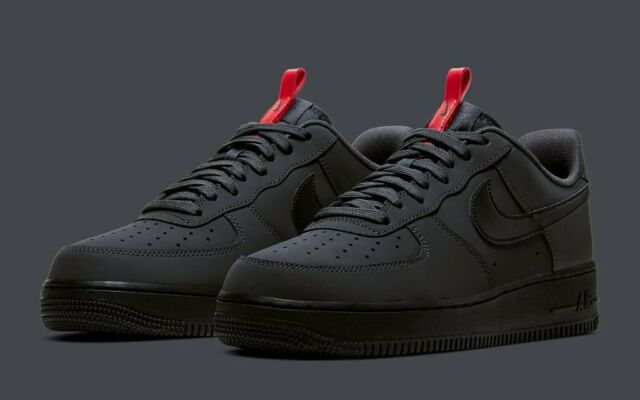Nike Air Force 1 '07 Anthracite Black BQ4326 001 Men's Shoes Multi Size NEW
