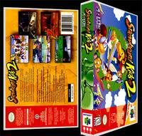 Snowboard Kids 2 - N64 Reproduction Art Case/box No Game.