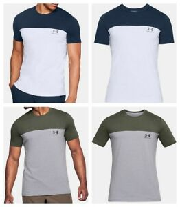 Under-Armour-Mens-T-Shirt-Short-Sleeve-Sportstyle-Casual-Tee-Gym-Top-S-M-L-XL