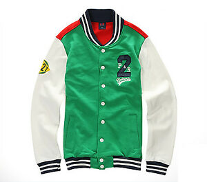 NII-Mens-Casual-Snap-Button-Front-Baseball-Varsity-Jacket-Jumper-Size-S-NWT