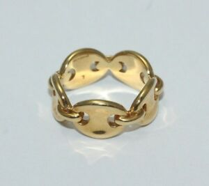 Links-Of-London-18ct-Yellow-Gold-Ring-Size-L