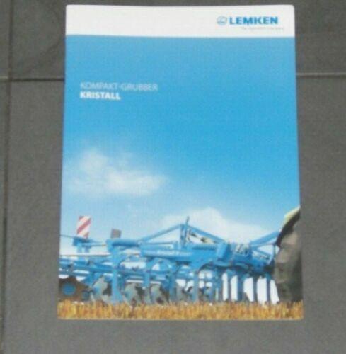 LEMKEN Kompakt-Grubber KRISTALL Prospekt von 06//2017 9478