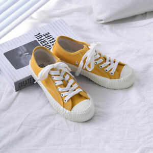 Women-Canvas-Sneaker-Shoes-Ladies-Classic-Authentic-Athletic-Low-High-Top-Casual