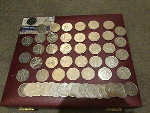 Uk Seltenes Andenken 50 Pence Münzen Selten Britischer 50p Münze