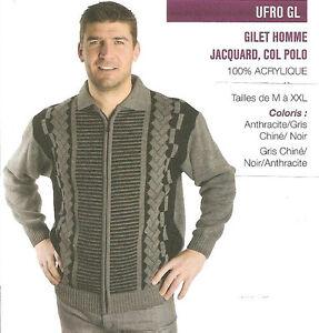 Zip Polo A Valley Col Oaks Jacquard Marque Gilet Homme tCqw4XU