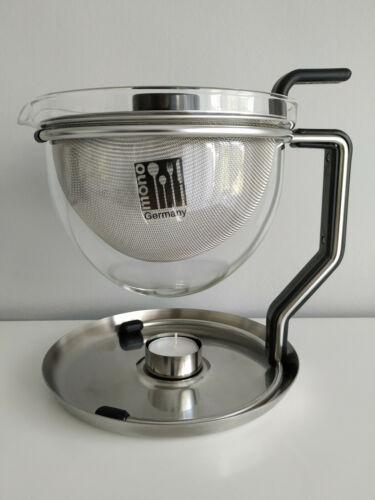 mono Teekanne mit integriertem Stövchen 10400 1,5 l Top Zustand