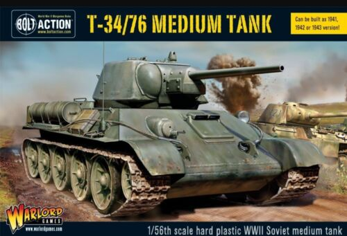 Warlord Games Bolt Action T34//76 Tank