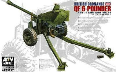 Vulcan 1//35 Ordnance QF 2 Pounder British Anti-Tank Gun #56001