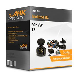 Für VW T5 03-09 TRAIL-TEC Elektrosatz 7polig fahrzeugspezifisch Neuware