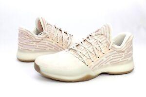 f9e7cba86f10 Adidas Harden Vol 1 Primeknit Basketball Chalk White AP9840 Size 6.5 ...