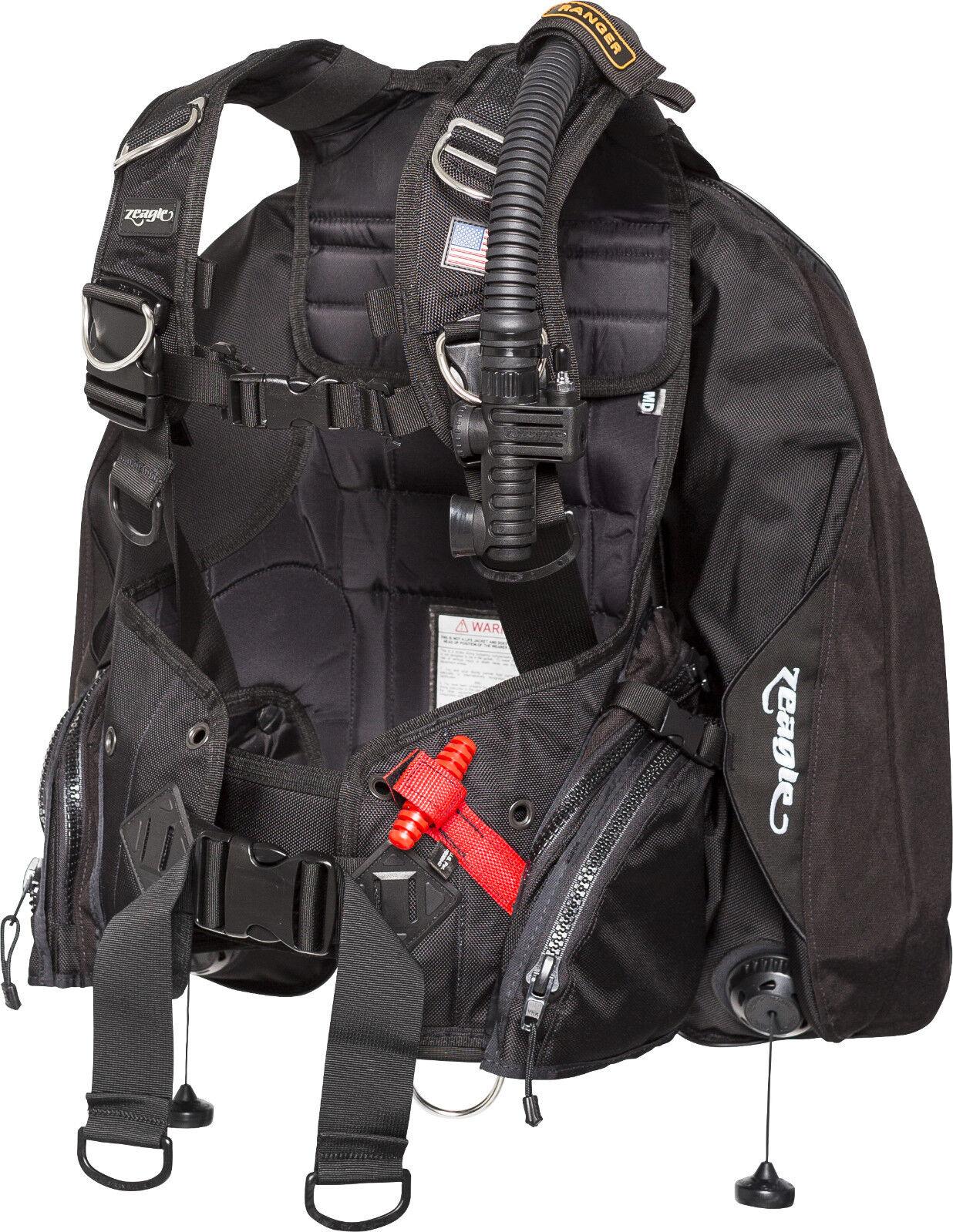Zeagle Ranger Ltd Bcd Scuba Diving Gtuttieggiante WSacchetti 7909RK Md