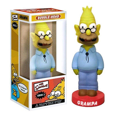 FUNKO THE SIMPSONS SMITHERS SERIES 5 WACKY WOBBLER BOBBLE HEAD BRAND NEW RETIRED