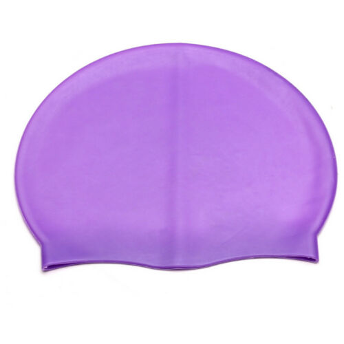 Unisex Waterproof Silicone Elastic Swimming Cap Hat Kids Swim Shower Hat Hot