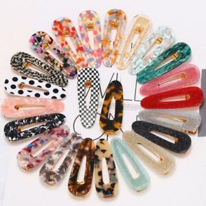 Women-Waterdrop-Hair-Clips-Hairpins-Leopard-Print-Barrettes-Hair-Accessory-Cute
