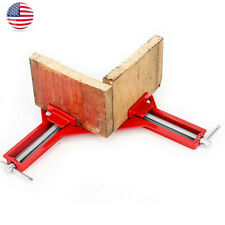 Woodworking 90Degree Right Angle Picture Frame Corner Clamp Clip Holder Kit Z4P2