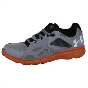 Mens Running Thrill 1258794 038 Steelredwhite Armour Under Shoes DIH92WEY