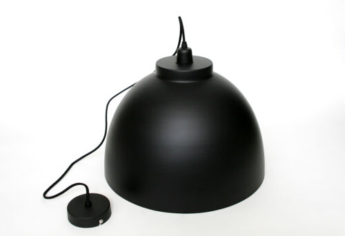 Deckenleuchte Schwarz-Gold Schlafzimmer Wohnzimmer Metall Decken-Lampen Loft LED