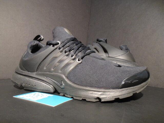 promo code discount buying new Nike Air Presto TP QS Tech Fleece Triple Black Grey 812307-001 Medium 10  10.5 11