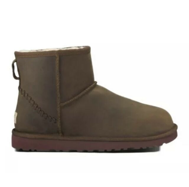 be5ba0eaef0 UGG Men's Classic Mini Deco Chestnut Leather Boot 13 D (M)