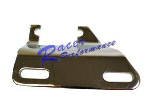 SBC SB Chevy Lower Alternator Bracket SWP Black Header Headers 283 327 350