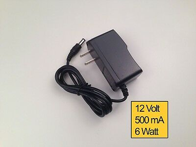 Power Adapter Supply 12V 500mA 1A 2A 3A 5A 6A 8A 10A 5.5/2.1 DC Power Plug lot