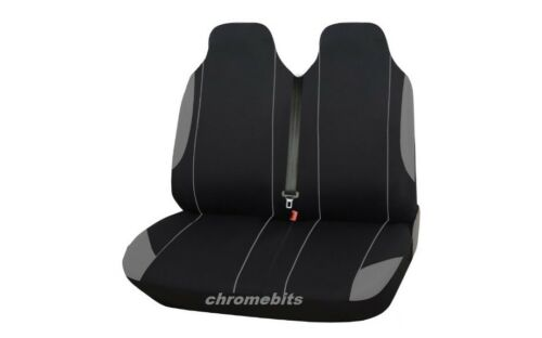 2+1 Grey Back Comfort Fabric Seat Covers For Peugeot Partner