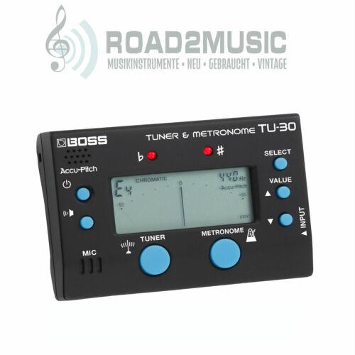 Boss TU-30 Tuner und Metronom Stimmgerät Bass Gitarre etc.