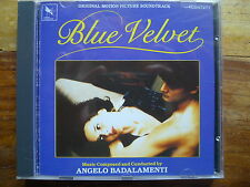 "ANGELO BADALAMENTI ""BLUE VELVET"" 1st Press. Isabella Rosselini / David Lynch CD"