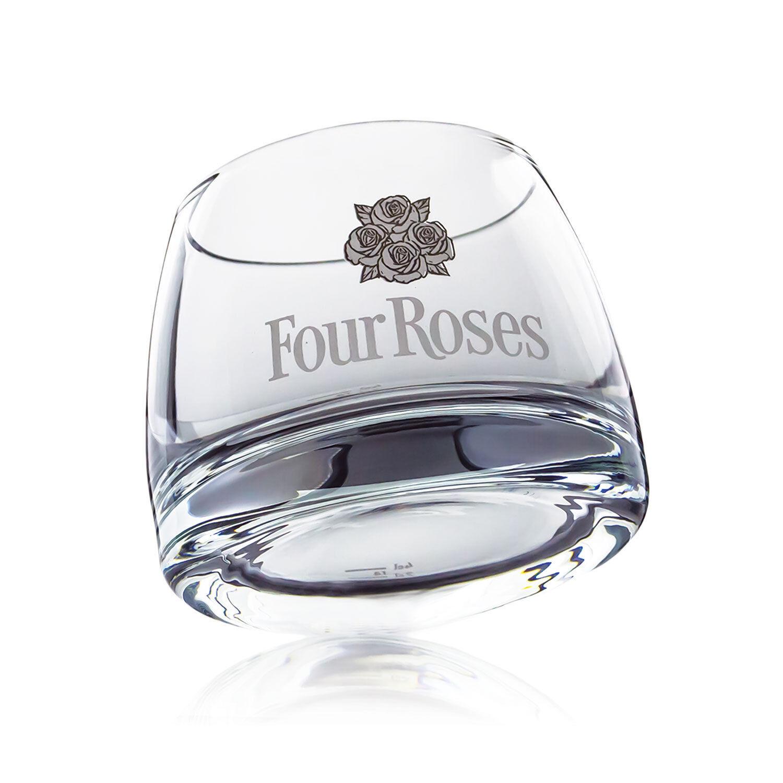 6 X Four Roses whisky bourbon verre verres design longdrink gastronomique bar de NEUF