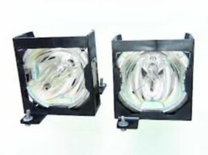 PANASONIC ETLAD40W ET-LAD40W TWIN PACK LAMPS IN HOUSING FOR MODEL PTD4000