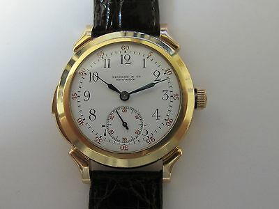 TIFFANY& CO VINTAGE MINUTE REPEATER MADE BY PATEK PHILIPPE MENS PINK GOLD RARE!!