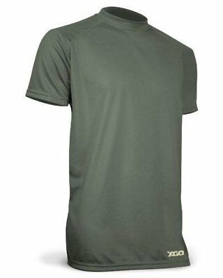 Clothing, Shoes & Accessories Xgo 1g16m-mc Lightweight Technical Mesh T-shirt Od Green Activewear Tops