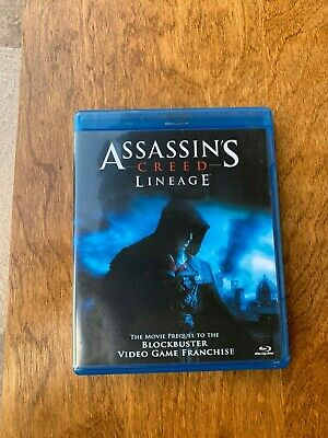 Free Shipping Assassins Creed Lineage Blu Ray Disc 2011
