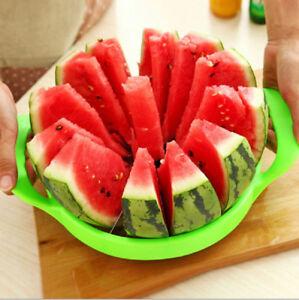 1X-pasteque-fraise-Melon-Trancheuse-Cuisine-en-Acier-Inoxydable-Fruit-Diviseur-Cutter
