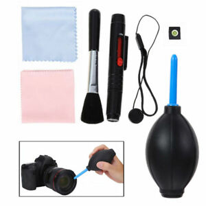 Professional 7 in 1 Lens Cleaning Kit Cleaner For Canon Nikon DSLR Camera New