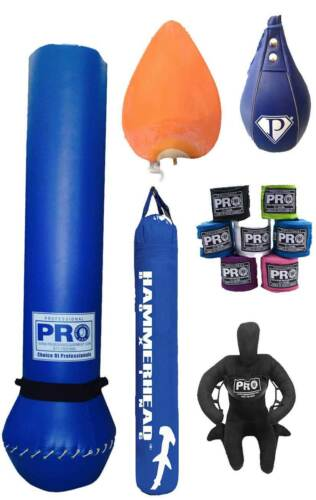 Muay Thai Heavy Bag Best for PUNCH BOXING Kick Boxing K1 MMA *Filled//unfilled**