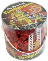 100 Firemen Action Figures - Firefighters Kids Toys Games Activity Room Party on sale