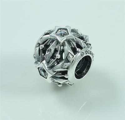 Authentic Genuine Pandora Silver Disney Frozen Snowflakes Charm 791563CZ